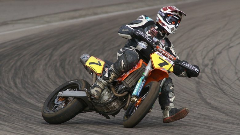 Paul Adams make new record in motor biking