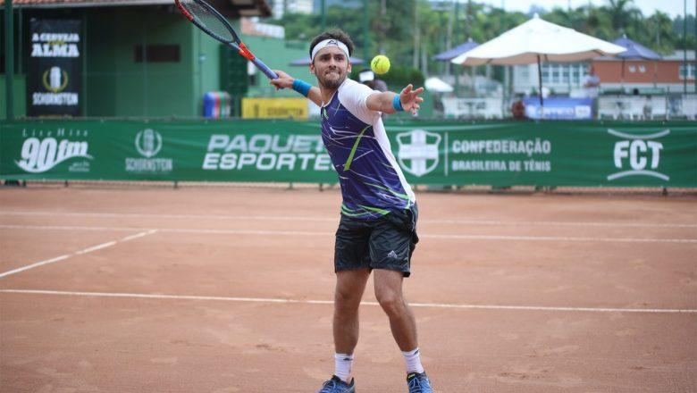 Blumenau (SC) recebe torneio profissional de tênis com R$40 mil em premiações