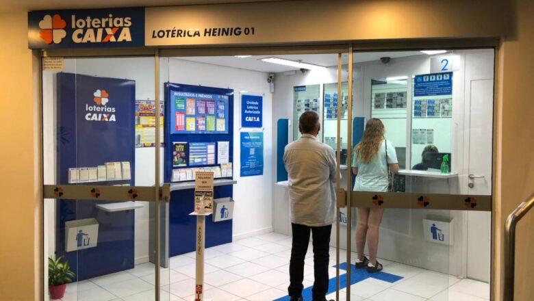 Neumarkt Shopping conta agora com serviço de Lotérica