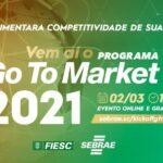 Evento abre o ciclo 2021 do programa de internacionalização para pequenas empresas do Sebrae/SC