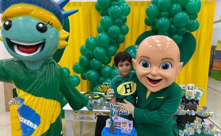 Havan prepara surpresa de aniversário para criança autista