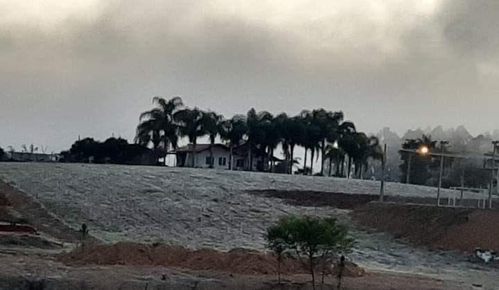 Geada e -2,7°C marcam dia mais frio do ano no Vale do Itajaí