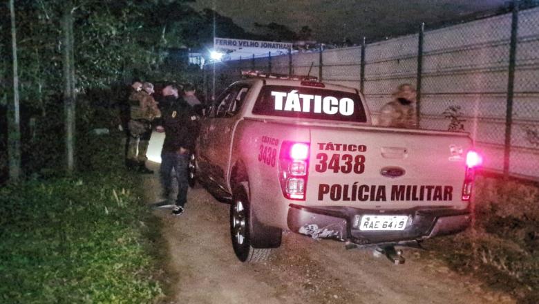 Três bandidos morreram após confronto com policiais em Blumenau
