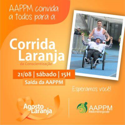 AAPPM realiza corrida, nesse sábado, em alusão ao Agosto Laranja